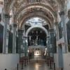 The church's frescos were incredible.