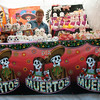 One section of town held booths selling Day of the Dead stuff.