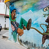 Here is a selection of photos of street art I found throughout my travels in Chiapas with my girlfriend Susan.