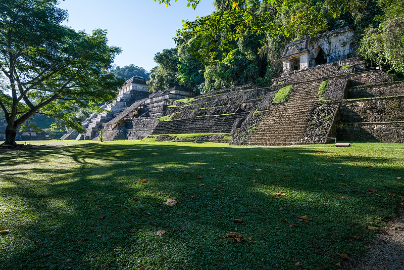 Palenque was a Maya city state in southern Mexico that flourished in the 7th century.