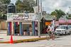 A roadside stand sells fruit pops and agua frescas. (Pisté, Yucatán, MX - 01/14/16, 2:34:01 PM)