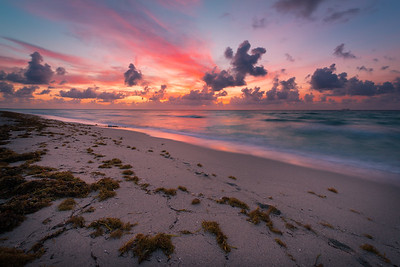Fine art photo of Mimai Beach Sunrise
