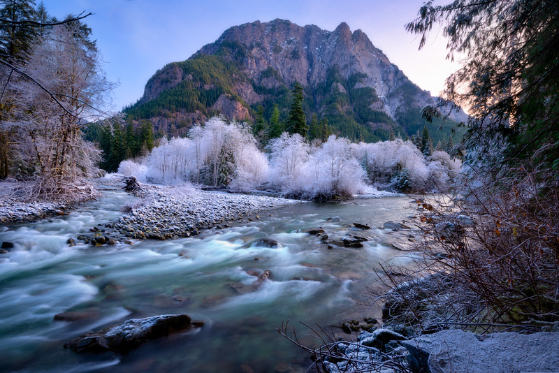 Frosty Morning at the Middle Fork