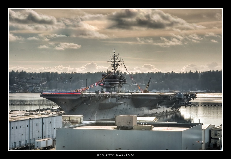 1.31.2009 -- Decommissioning of the USS Kitty Hawk