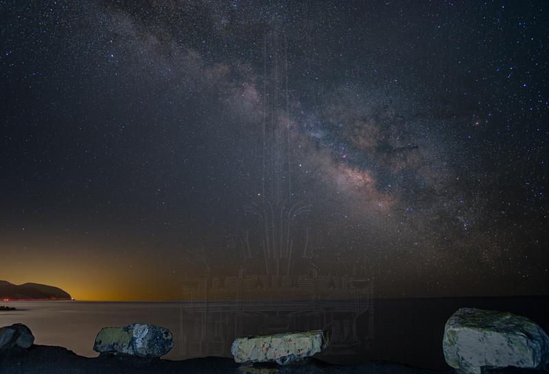 Milky Way from Point Mugu.