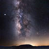 Milky Way at Amboy Crater