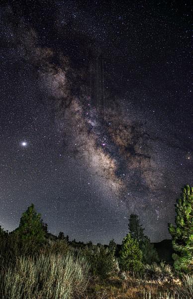 Milky Way in Lockwood Valley.