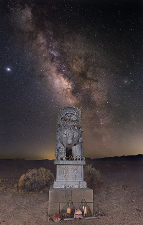 Amboy Guardian Lion - East