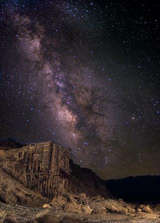 Milky Way over an Ore Loader in Kearsarge.