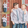 Boys collage