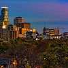 Sunrise over Minneapolis-Panoramic