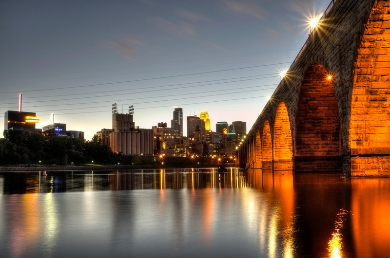 Minneapolis at dusk