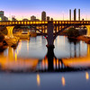 35W Bridge in Gold