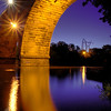 Crescent Stone Arch Bridge