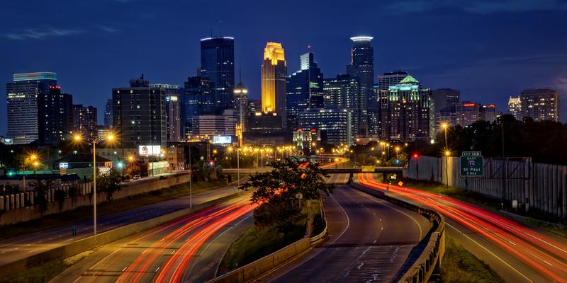 Twilight in Minneapolis