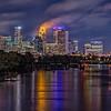 A Cloudy Night in Minneapolis