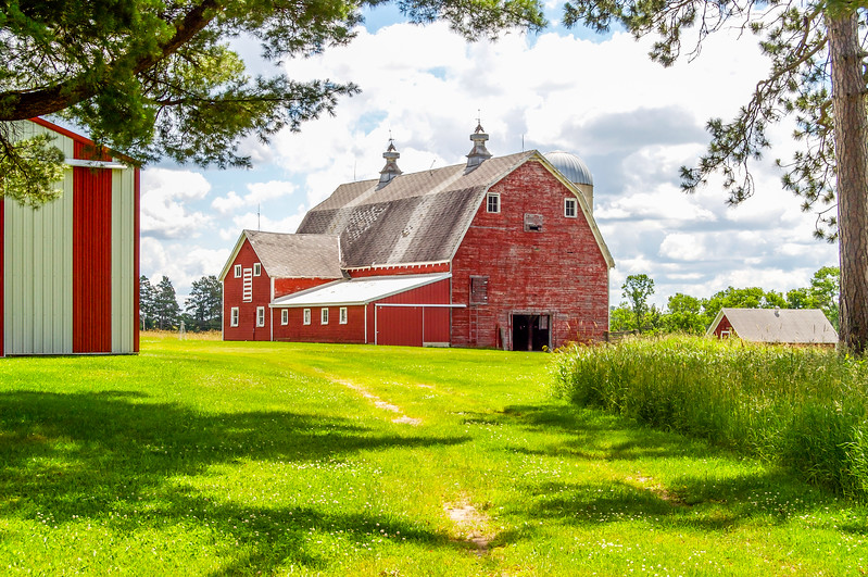 Barn From the Field