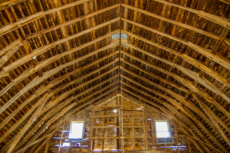 Hayloft Ceiling