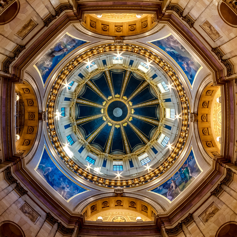 The Minnesota State Capitol Dome