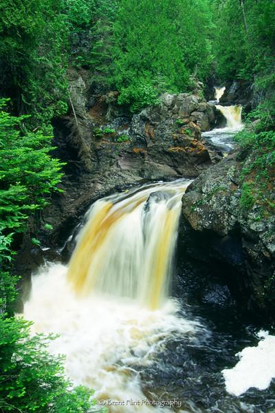 S.3778 - Cascade Falls, Cascade River State Park, MN.