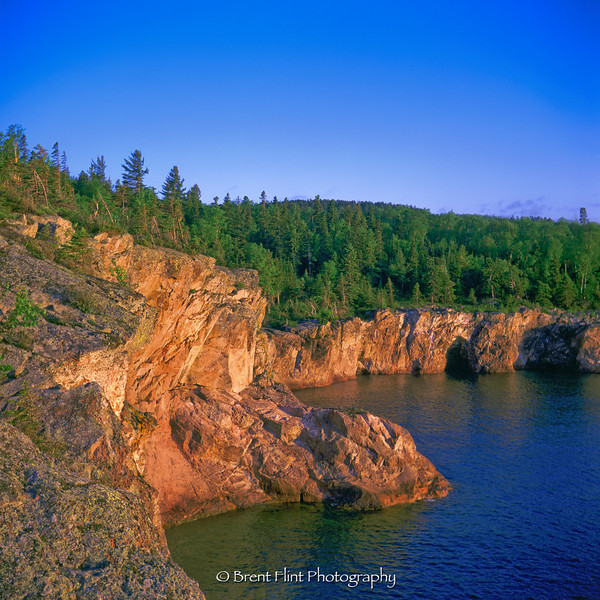 S.3370 - North Shore, Lake Superior, Tettegouche State Park, MN.