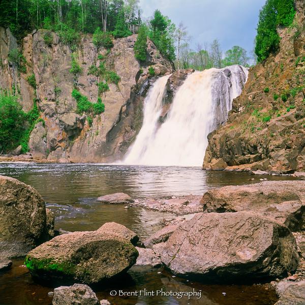 S.2901 - High Falls, Baptism River, Tettegouche State Park, MN.