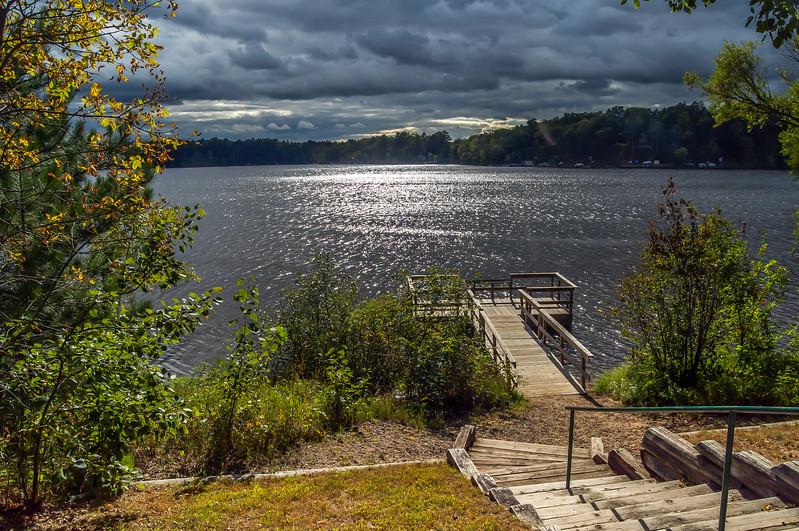 Lake Sibley Fishing Pier