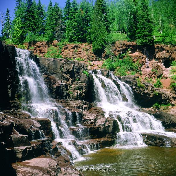 S.3373 - Lower Gooseberry Falls, Gooseberry Falls State Park, MN.