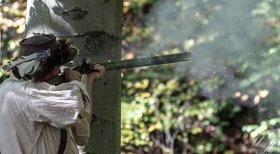 Black Powder Rifle Shooting