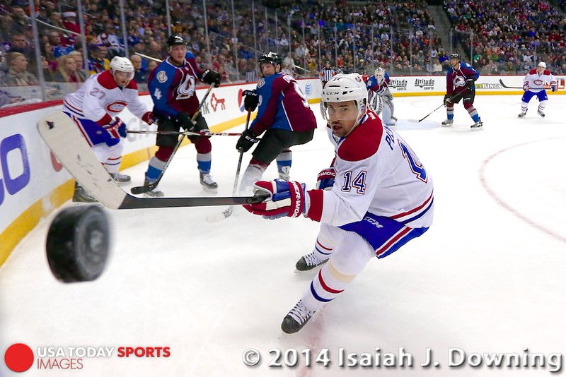 NHL: Montreal Canadiens at Colorado Avalanche