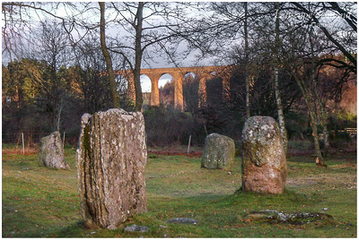 Clava stone circle and River Nairn viaduct 2