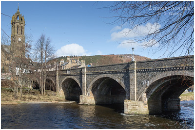 Tweed Bridge, Peebles