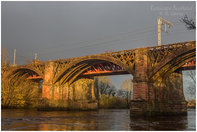 Uddingston Viaduct over River Clyde