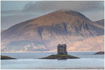 Castle Stalker, Loch Laich, Appin (2)