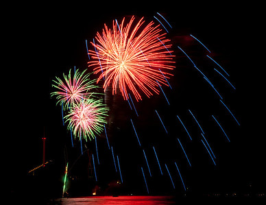 Cedar Point Sandusky Ohio Fireworks