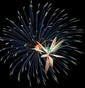 Huron, Ohio River Fest Fireworks