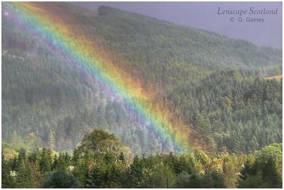 Rainbow over Lochgoilhead