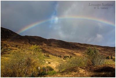 Rainbow, Sallachy (Kintail)