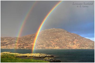 Rainbow, Lochboisdale (South Uist)
