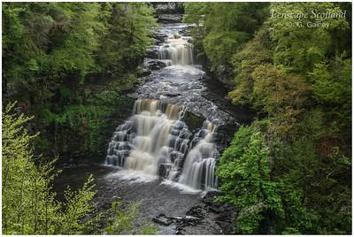 Corra Linn, River Clyde, New Lanark (1)