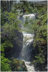 Victoria Falls, Slattadale, Loch Maree (2)