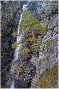 Waterfall below Meallan Ghobhar, Kinlochewe (2)
