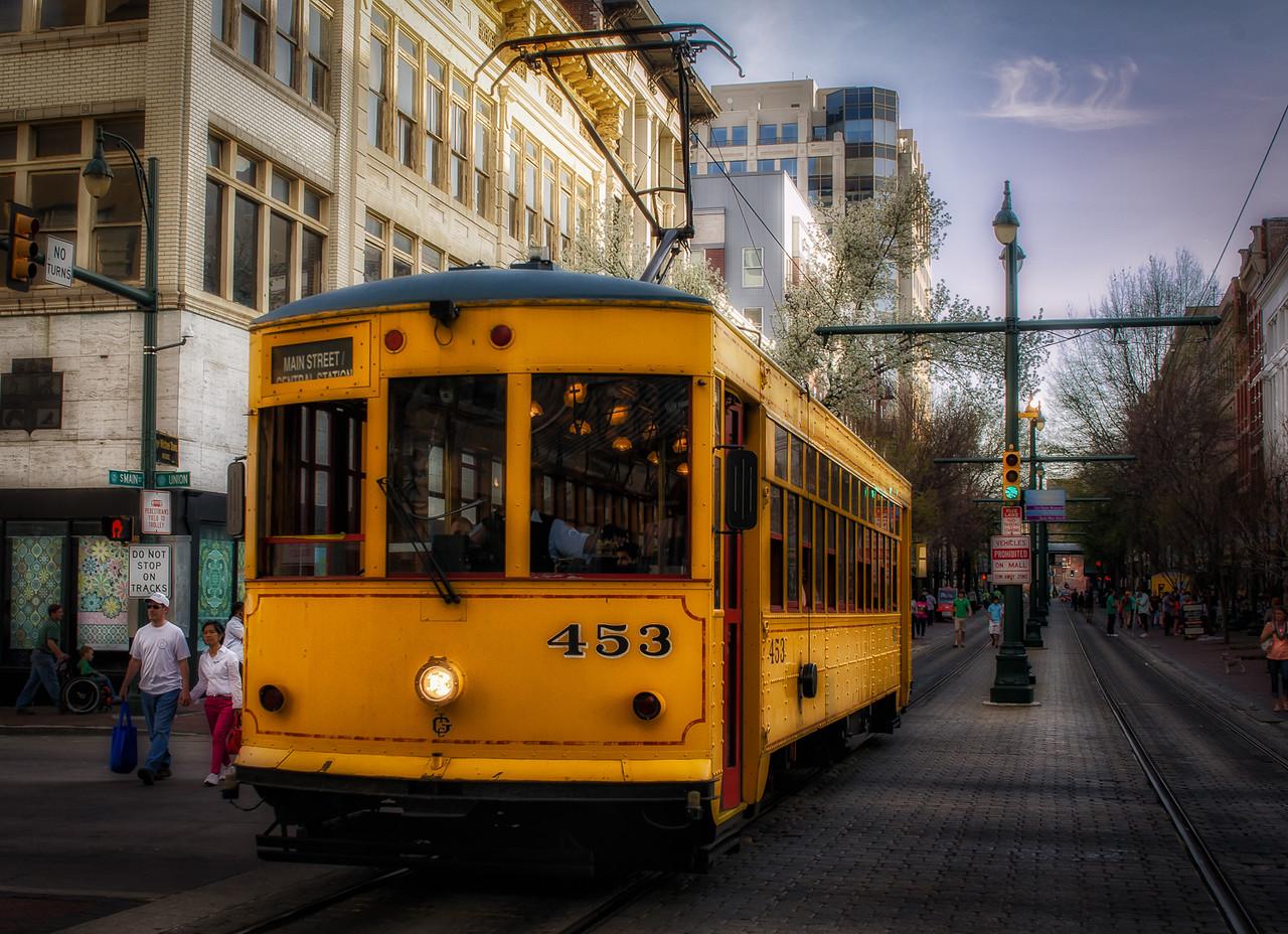Memphis Trolley 453