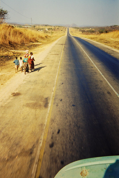 Road to Choma, Zambia Africa