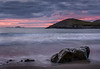 Sunset Whitesands Bay & St Davids Head - a long exposure