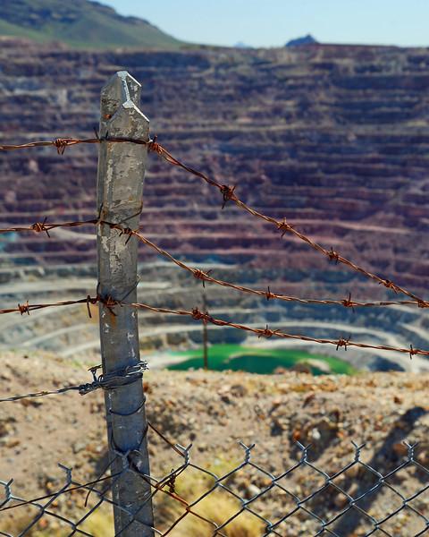 New Cornelia Mine Ajo, Arizona - <br /> Abandoned in 1983