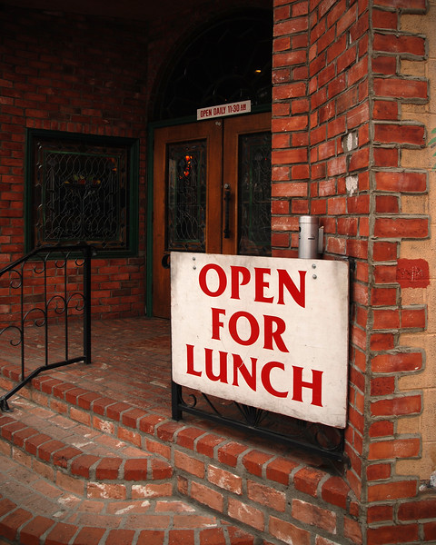 Open for Lunch