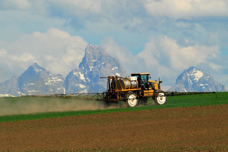Farming in Eastern Idaho