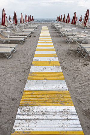 Boardwalk - Milano Marittima, Cervia, Ravenna, Italy - April 24, 2019