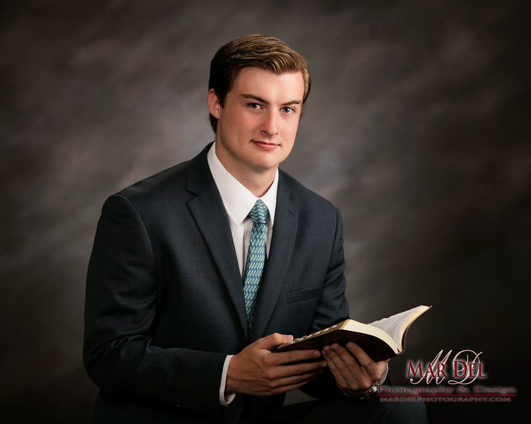 lds Missionary with Book